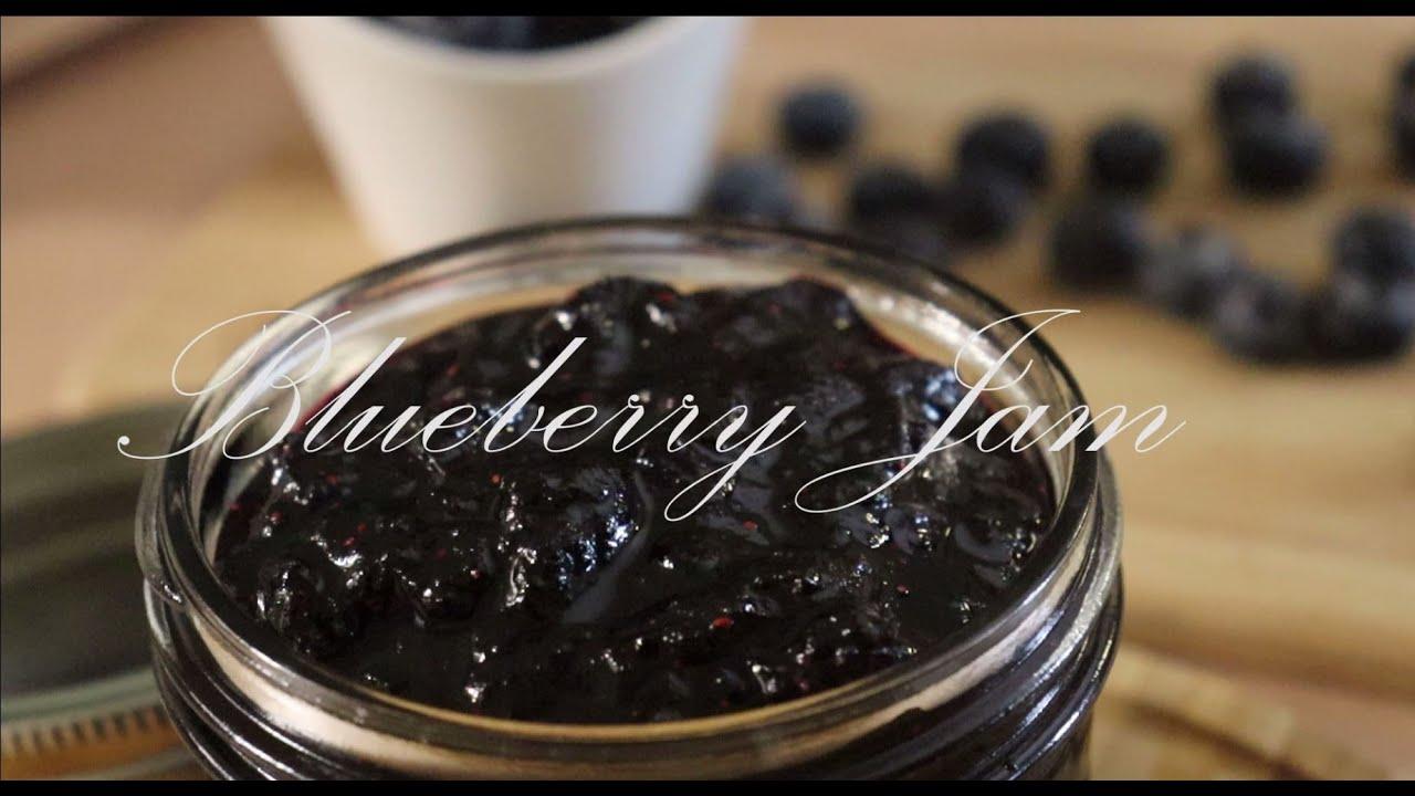 How to Make Blueberry Jam / Homemade Blueberry Jam / VanHwang