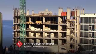 В Одессе на стройке рабочего убило автокраном: ведётся расследование