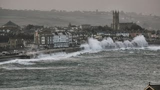 [3.03 MB] Penzance Storm - February 2014 (HD)
