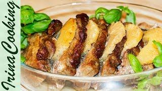 Вкуснейшая СВИНИНА, запеченная с АНАНАСАМИ | Oven-roasted Pork with Pineapple
