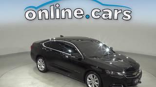 A13073PT Used 2017 Chevrolet Impala LT FWD 4D Sedan Black Test Drive, Review, For Sale
