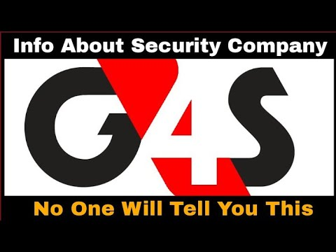 G4S Security || Information About G4S Security Company || G4S Services For Clients And For Staff ||