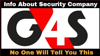 G4s Security || Information About G4s Security Company || G4s Services For Clien