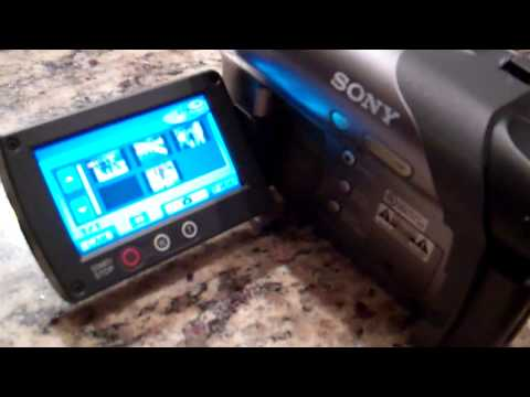 How To Finalize A Disc On A Sony HandyCam