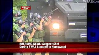 RAW VIDEO: Shots Fired During Larimer SWAT Situation