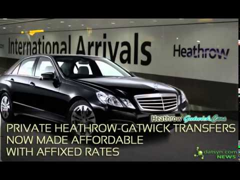 Private Heathrow Gatwick Cars Transfers Now Made Affordable with Affixed Rates