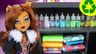 How to make fabric bundles for your  doll's design studio - Easy Doll Crafts