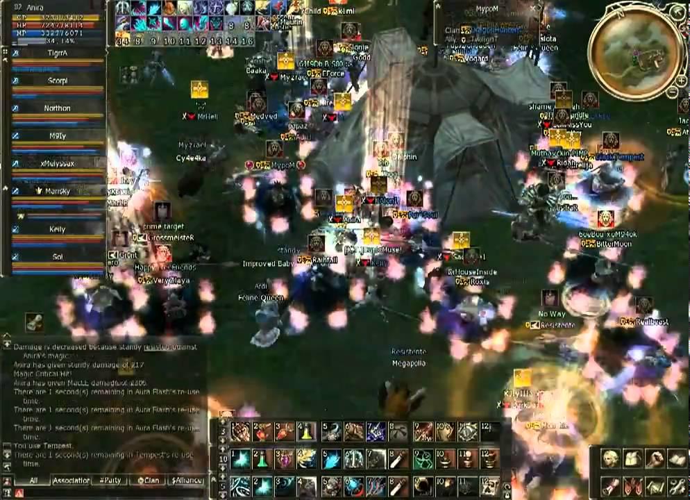 Anira , Territory Wars July 18 (2009) (Lineage 2 Teon EU Server)