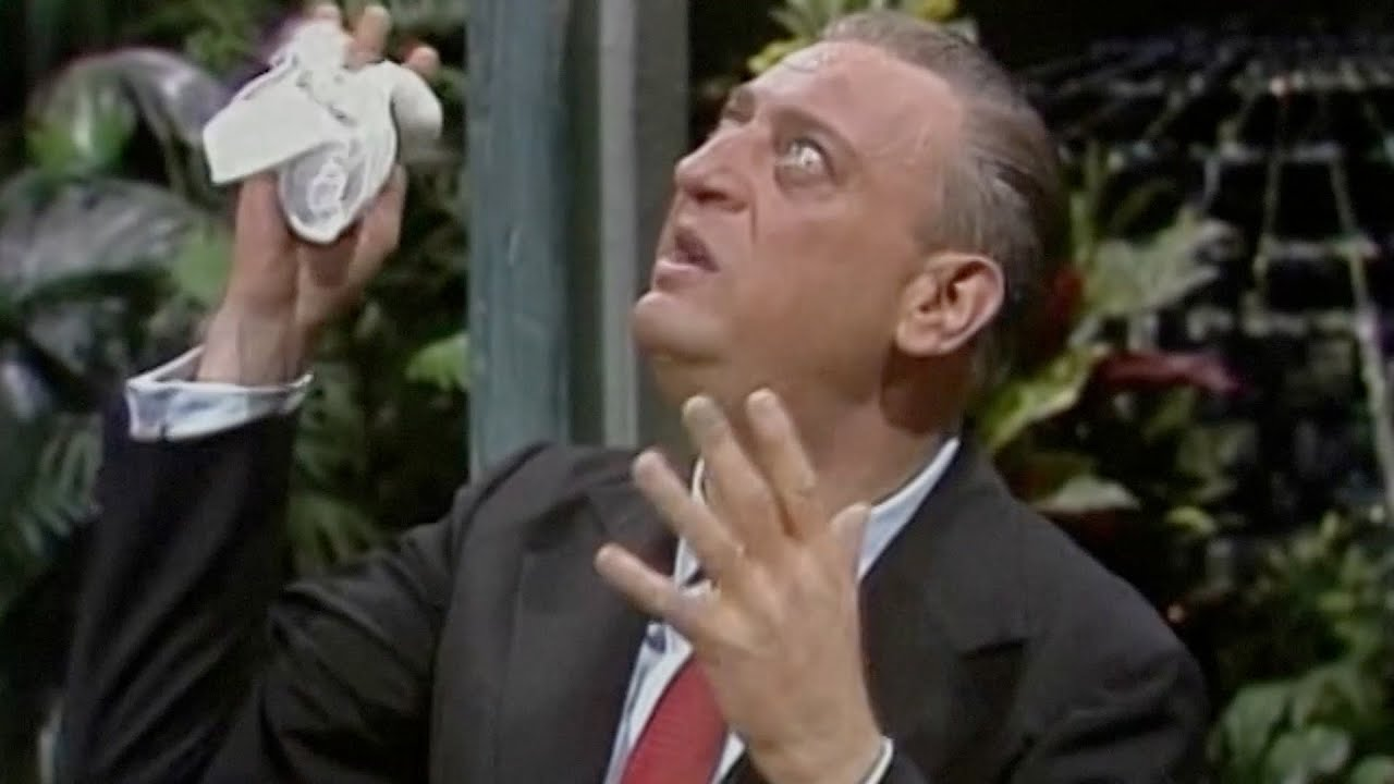 Rodney Dangerfield Has Dom DeLuise Rolling On the Floor Laughing (1974)