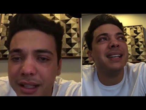 Wesley Safadão chora ao comentar briga com a ex