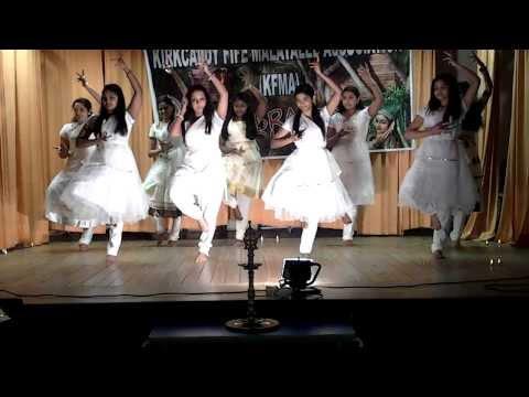 Christmas Prayer Dance - Kirkcaldy Senior Girls