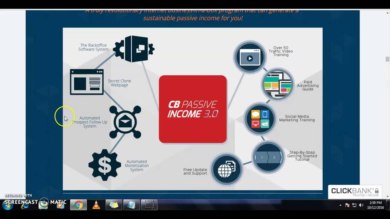 Passive review clickbank income 0 3