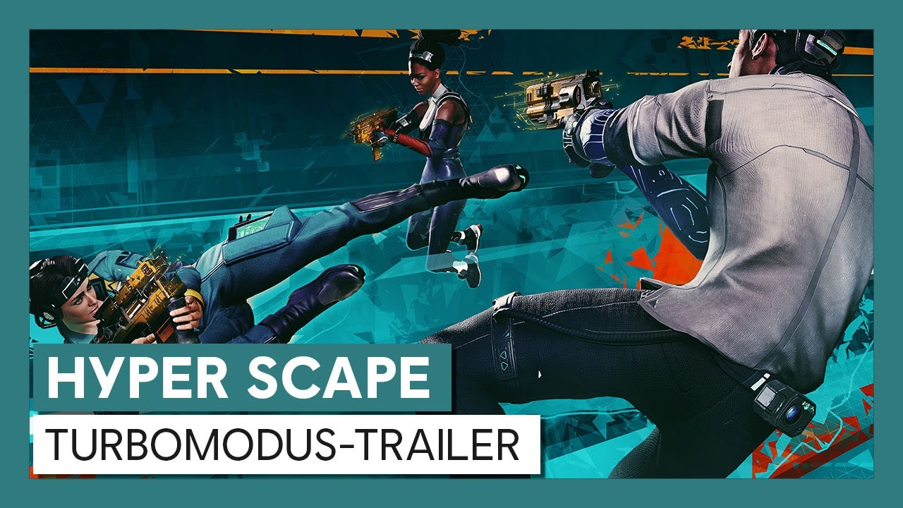 Hyper Scape: Turbomodus-Trailer