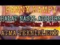 Fanny Kampı: Halat Nasıl Atılır? 2'er,3'er,4'er Halat Atma Teknikleri!