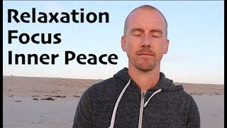 Gambar cover REAL MEDITATION for HUMAN BEINGS | Relaxation & Focus | Ocean Waves