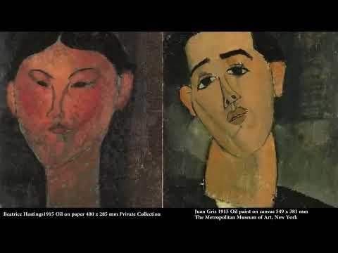 Modigliani, Tate Modern, London