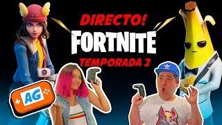 FORTNITE 2 TEMPORADA 2 🔴 DIRECTO 🔴 PASE DE BATALLA 🔴DIRECTO 🔴 NUEVAS SKINS en Abrelo Game