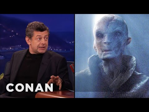 Andy Serkis: Supreme Leader Snoke Is Motivated By Fear   CONAN on TBS