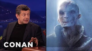 Andy Serkis: Supreme Leader Snoke Is Motivated By Fear  - CONAN on TBS