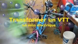 Transformer un VVT en vélo électrique 1000 watts 48V
