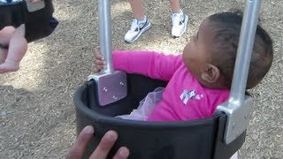 Olivia's First Time at The Playground! April 27, 2013 | Naptural85 Vlog