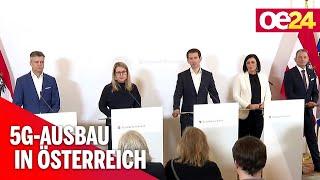 Start für das 5Giganetz in Österreich