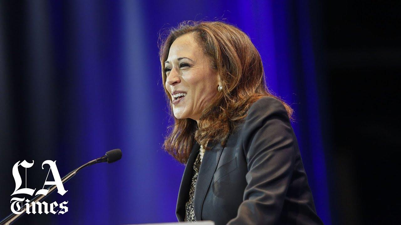 Kamala Harris resigns her Senate seat