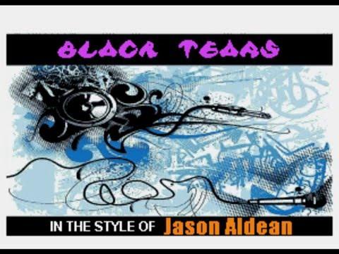 Jason Aldean   Black Tears (Backup)