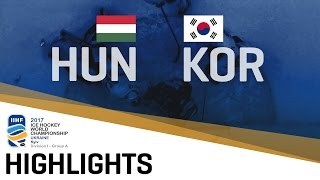 Hungary - Korea | Highlights | 2017 IIHF Ice Hockey World Championship Division I Group A thumbnail
