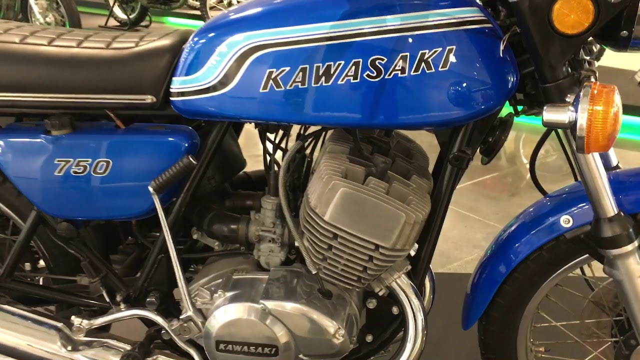 H2 Custom Kawasaki Triples T Wiring Diagrams For 1969 1972 H1 Cleanest Classic Two Stroke Triple Vintage Motorcycles 750 And 500 Mach 3