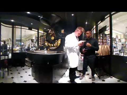 Harrods Roastery – Wallenford Jamaica Blue Mountain Coffee 360 VR Video