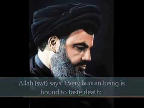 Sayed Hassan nasrallah talking about death.