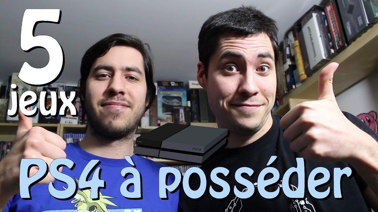 Les 5 jeux ps4 poss der youtube - Jeux en ligne ps4 ...