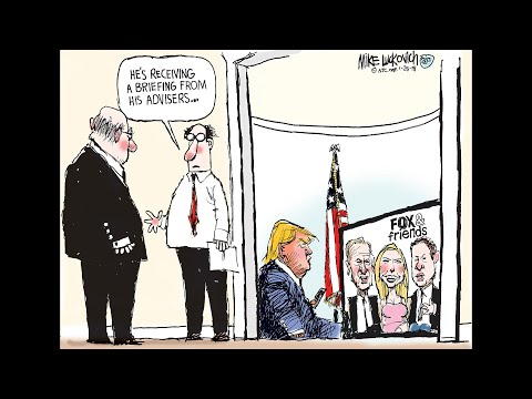 Mike Luckovich Draws the News