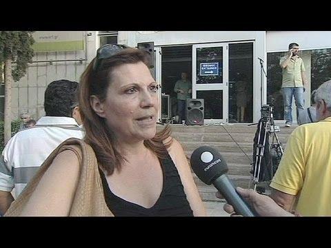 Shock and disbelief at Greek shutdown of ERT