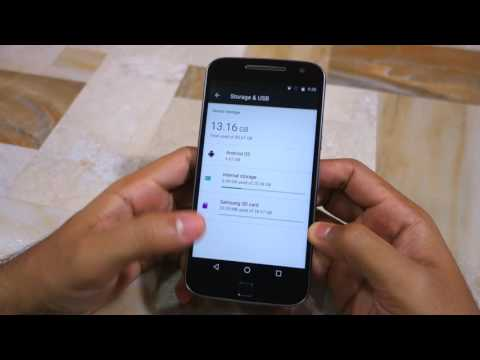 How to move Apps to SD Card on Moto G4/Plus
