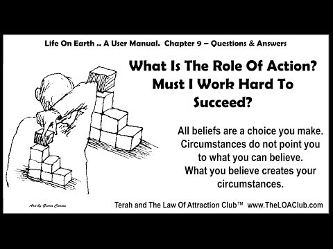 Chapter 9 – What Is The Role Of Action?  Must I Work Hard To Succeed?
