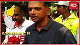 Rahul Dravid Urges People To Come Out And Vote In Large Numbers | Karnataka Polls Live