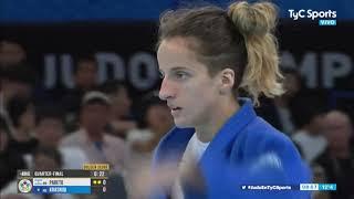 Pareto cayó en el repechaje y no pudo ser de bronce en el Mundial de Judo
