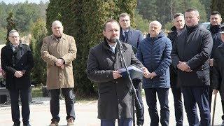 Obchody 79 rocznicy zbrodni katyńskiej - Jacek Karczewski, dyrektor Muzeum Żołnierzy Wyklętych