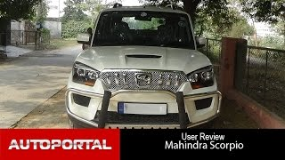 Mahindra Scorpio User Review - 'best SUV' - Auto Portal