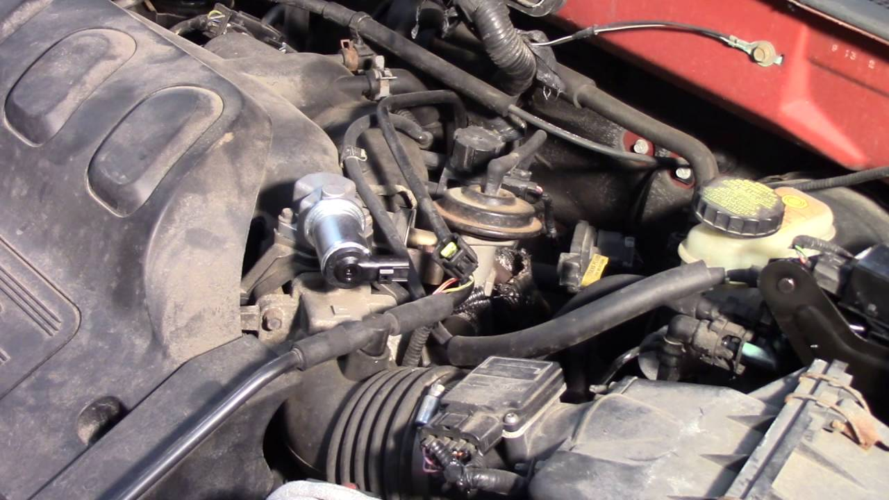 Idle Air Control Valve (IAC) Installation  Ford Escape 30L  YouTube