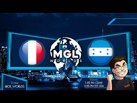 Francia vs Honduras  | Mundial de Clash Royale | CR WORLDS | LA MEJOR COMPETICIÓN ONLINE DEL JUEGO