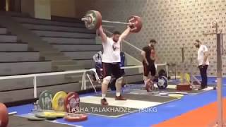 Lasha Talakhadze - hard train
