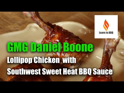 Lollipop Chicken - GMG Daniel Boone Grill Review - Learn to BBQ