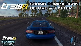 The Crew 2 - Dodge Viper Sound Comparison - Before and After November Update (Blazing Shots Update)