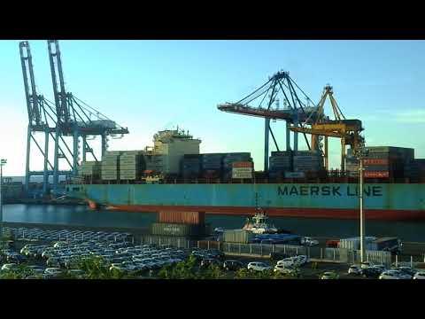 PORT EST RÉUNION~Maersk Seoul~TREIZE FÉVRIER 2018.