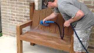 Steam Detail Outdoor Porch or Patio Furniture