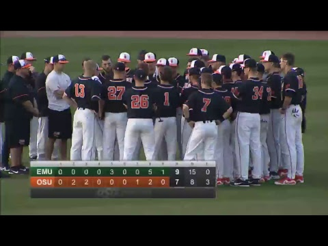 Oklahoma State Cowboy Baseball vs. Eastern Michigan (Game 2)