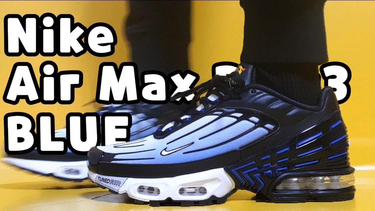 Nike Air Max Plus 3 Og Hyper Blue Unboxing Nike Air Max Plus 3 On